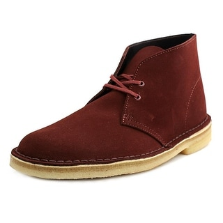 Clarks Originals Desert Boot Round Toe Leather Desert Boot