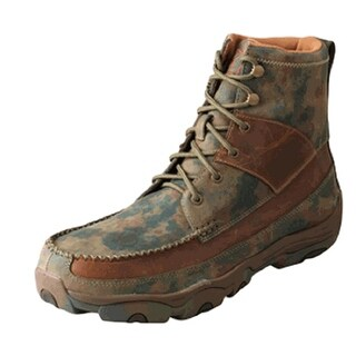Twisted X Outdoor Boots Mens Hiking Waterproof Texas Camo MHKW001