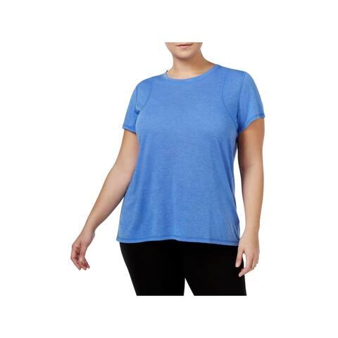 Calvin Klein Performance Womens Plus T-Shirt Fitness Running