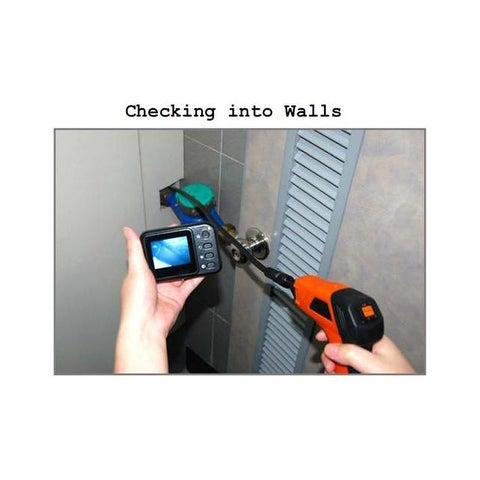Shop Wireless Waterproof Snake Plumbing Sewer Inspection Camera with ...