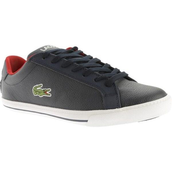 df189414c37c7 ... Men s Sneakers. Lacoste Men  x27 s Graduate Vulc TS Dark Blue Red  Leather