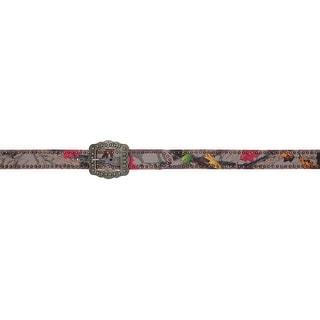 Angel Ranch HotLeaf Western Belt Womens Camo Studs Gray Pink HL1025