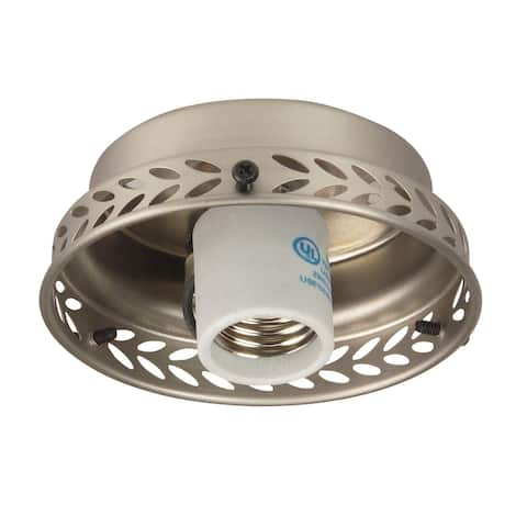 """Craftmade F104CFL 4"""" 1 Light Fitter with CFL Bulb Included"""
