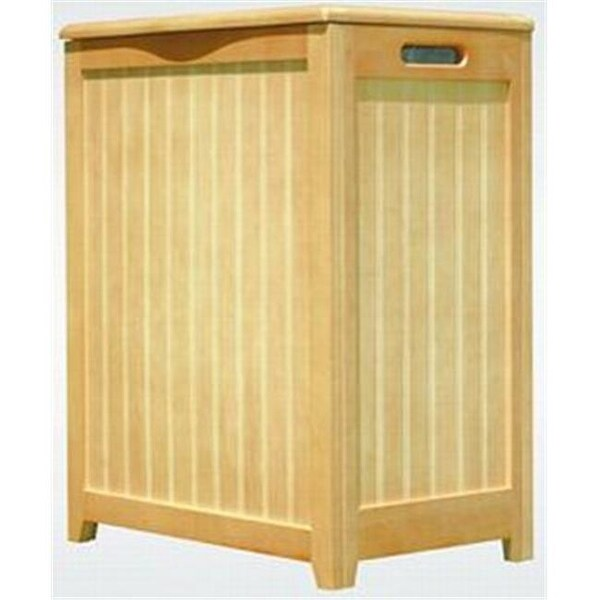 Oceanstar Rhp0109n Natural Finished Laundry Hamper With Interior Bag Free Shipping Today 24957619