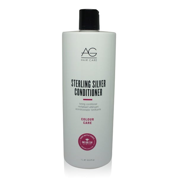 AG Hair Sterling Silver Conditioner 33.8 Oz