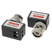 Video Balun CCTV Passive UTP Cat5 Transceiver 2 Pieces