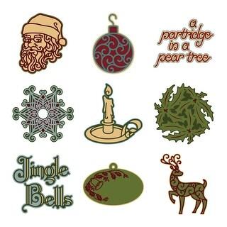 Cricut Mini Seasonal Shape Cartridge-Holly And Ivy
