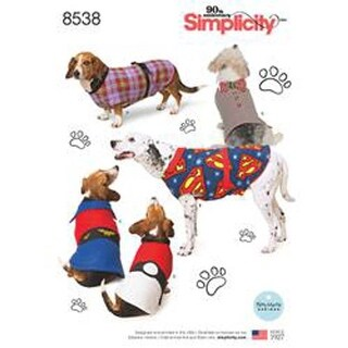 S-M-L - Simplicity Dog Coats In Three Sizes