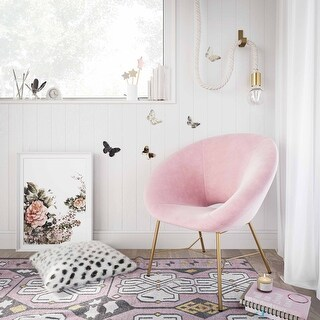 Link to Nolan Velvet Chair Similar Items in Sofas & Couches