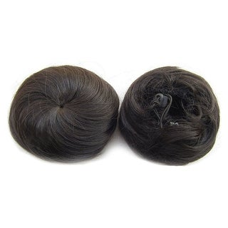 Bridal Hair Pack Bun Simple Siput Wig 2#