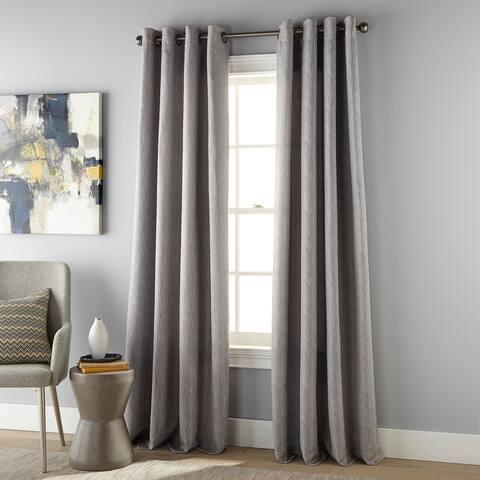 Grand Avenue Janise Room Darkening Grommet Single Curtain Panel