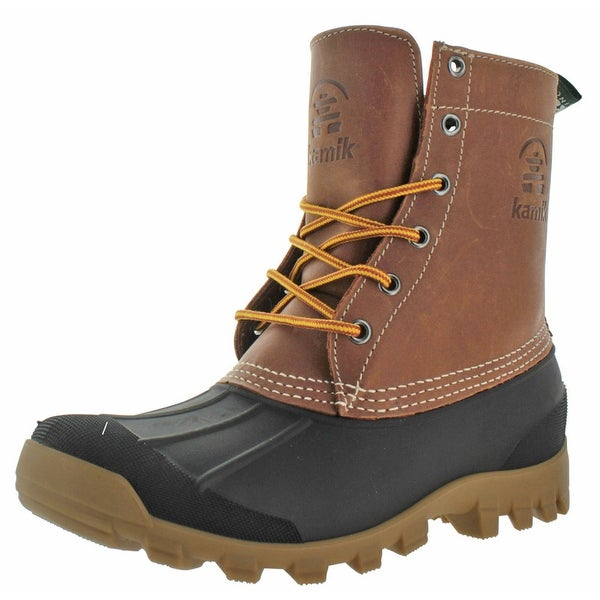 Kamik Yukon Men's Waterproof Winter Duck Boots