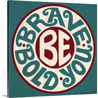 Susan Ball Solid-Faced Canvas Print entitled Be You