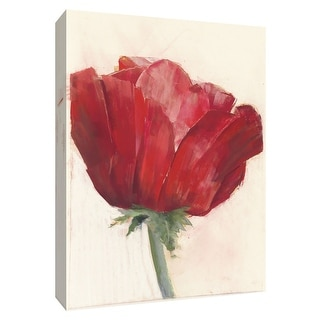 """PTM Images 9-154241  PTM Canvas Collection 10"""" x 8"""" - """"Poppy Red"""" Giclee Poppies Art Print on Canvas"""