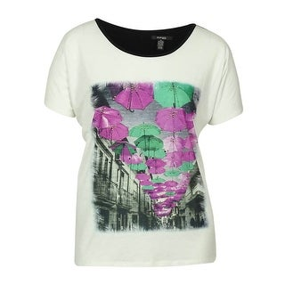 Journee Collection Womens Lightweight Sequined Owl Scoop Neck Top Free Shipping On Orders Over