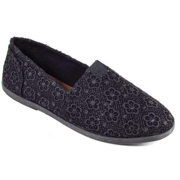 Soda Women Folea Casual Crochet / Lace Fabric Shoes