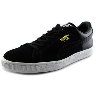 Puma Suede Classic + Blur Round Toe Suede Sneakers