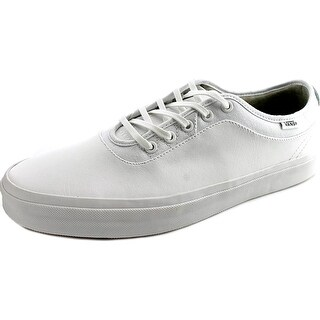 Vans Freamon Men  Round Toe Leather White Sneakers