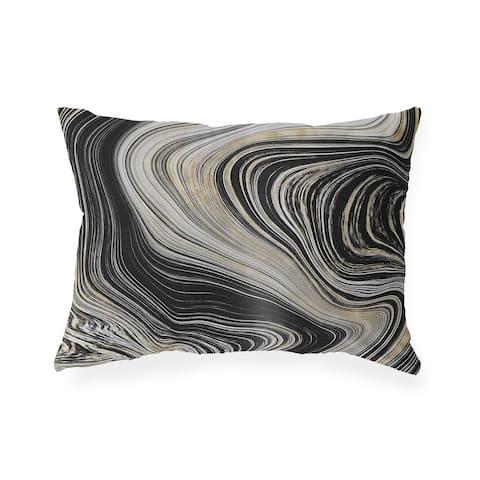 BOTSWANA AGATE Indoor Outdoor Lumbar Pillow by Kavka Designs - 20X14