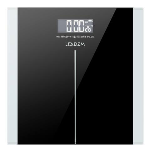 180Kg Slim Waist Pattern Personal Scale Black
