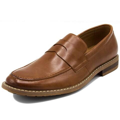 Nautica Men's Dress Shoes Slip On Oxford Moc Toe Loafer - 8