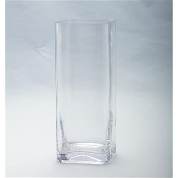 Shop Diamond Star 64028 12 X 5 X 5 In Square Glass Vase Clear