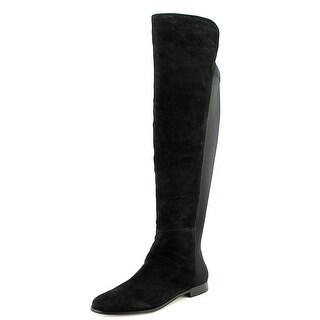 Corso Como Laura Round Toe Suede Knee High Boot