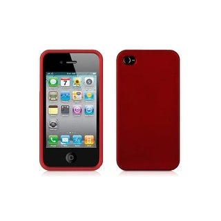 Griffin - Snap On Hard Cover Case for Apple iPhone 4/4S - Red