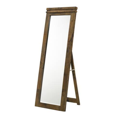 Furniture of America Leon Rustic Standing Floor Mirror