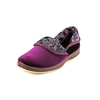 Foamtreads Sapporo Women W Round Toe Canvas Purple Espadrille