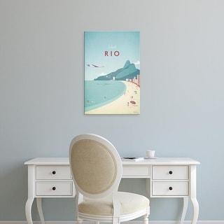 Easy Art Prints Henry Rivers's 'Rio' Premium Canvas Art