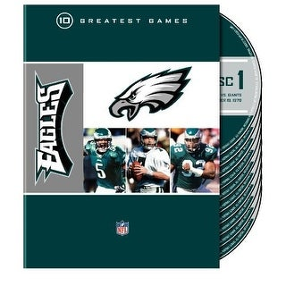 NFL Philadelphia Eagles 10 Greatest Games [DVD]