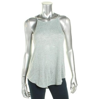 Project Social T Womens Halter Top Tank Knit - l