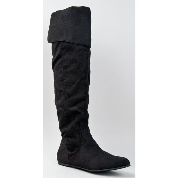 9c39b60642fee Shop Qupid Proud-09 Cuff Over The Knee Thigh High Or Knee High ...