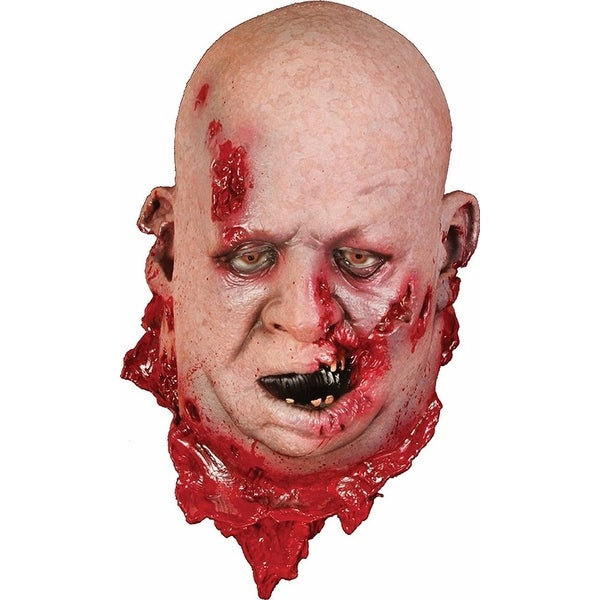 Fat Zombie Head Halloween Decoration