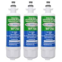 Replacement LG LFX28978ST Refrigerator Water Filter by Aqua Fresh (3 Pack)