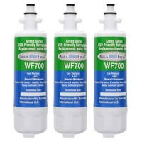 Replacement LG LFX25991ST Refrigerator Water Filter by Aqua Fresh (3 Pack)