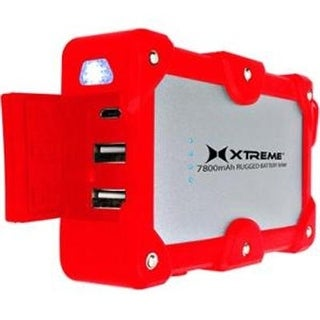 Xtreme Cables Xbb8-0109-Red 7800Mah Rugged Bttry Bank Red