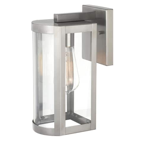 Esplanade 11 In 1-Light Polished Stainless-steel Outdoor Wall Lamp - Small Wall Lantern