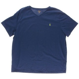 Polo Ralph Lauren Mens Embroidered Cotton T-Shirt
