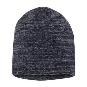 Sportsman Marled Knit Beanie - Navy/ Dark Grey - One Size