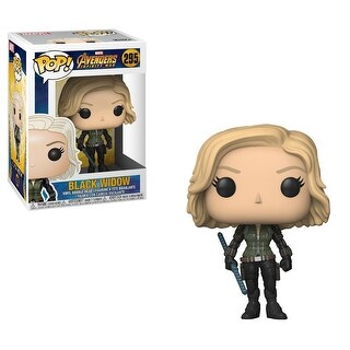 "FunKo POP! Marvel Avengers: Infinity War Black Widow 3.75"" Vinyl Figure - multi"
