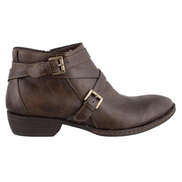 B.O.C Womens Barrera Closed Toe Ankle Fashion Boots