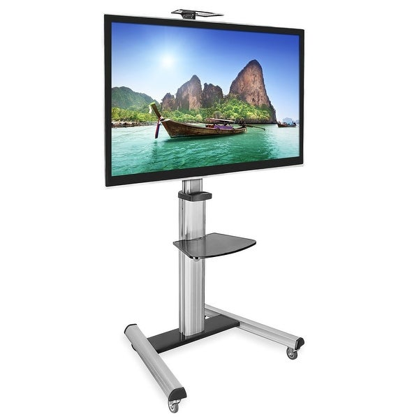 Shop Mount It Mobile Tv Stand For Flat Screen Televisions Free