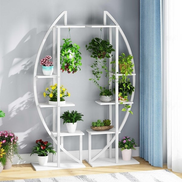 5-Tier Plant Stand 2 Pack Multi-story Flower Rack for Garden, Patio. Opens flyout.