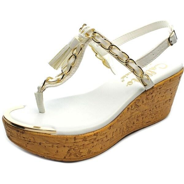 Callisto Tella Women White Sandals