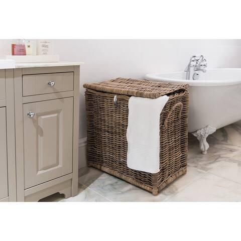 Kubu Rattan Laundry Separating Basket