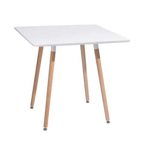 Carson Carrington Mid-Century Modern Square Dining Table