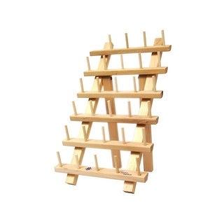 June Tailor Wood Thread Rack 30 Mini Spool w/Legs