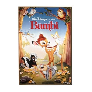 "Bambi 13"" x 19"" Wood Wall D?cor"